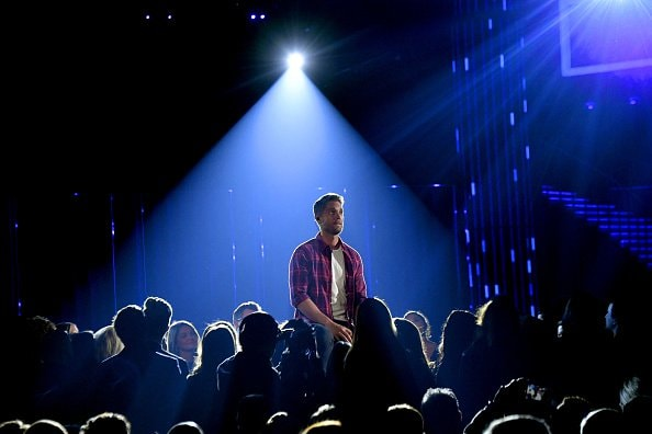 Singer-songwriter Brett Young performs onstage during the 52nd annual CMA Awards at the Bridgestone Arena on November 14, 2018 in Nashville, Tennessee.  (Photo by Michael Loccisano/Getty Images)