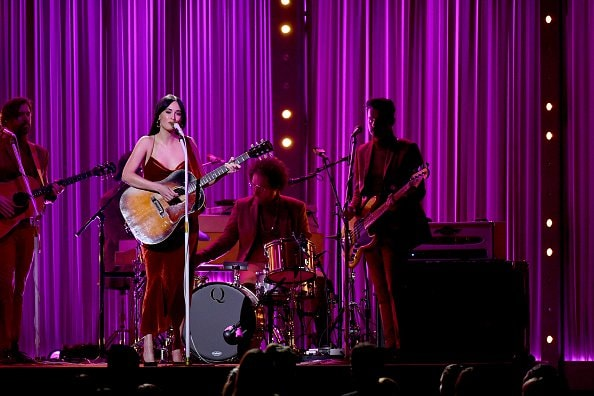 Singer-songwriter Kacey Musgraves performs onstage during the 52nd annual CMA Awards at the Bridgestone Arena on November 14, 2018 in Nashville, Tennessee.  (Photo by Michael Loccisano/Getty Images)