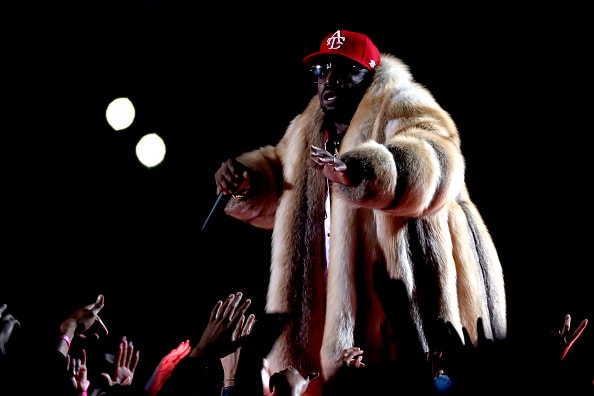 ATLANTA, GA - FEBRUARY 03: Big Boi performs during the Pepsi Super Bowl LIII Halftime Show at Mercedes-Benz Stadium on February 3, 2019 in Atlanta, Georgia.  (Photo by Jamie Squire/Getty Images)